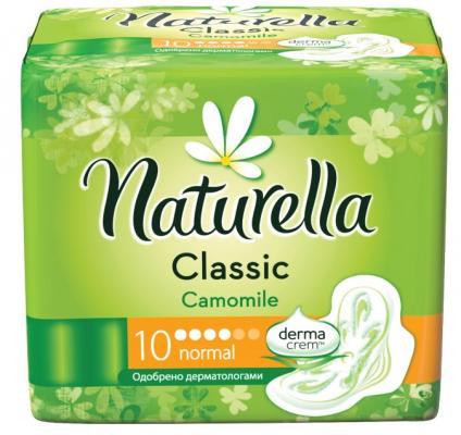 Прокладки впитывающие Naturella Classic Camomile Normal 10 шт прокладки naturella ultra 16 шт naturella