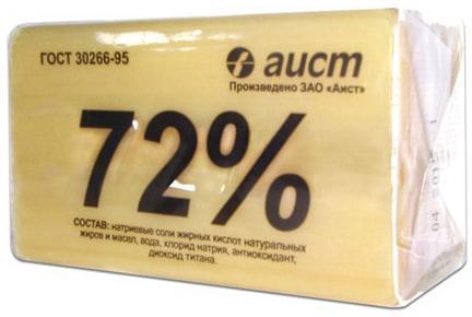 Мыло хозяйственное 72%, 200 г, (Аист) Классическое, в упаковке, 4304010046 статуэтка аист