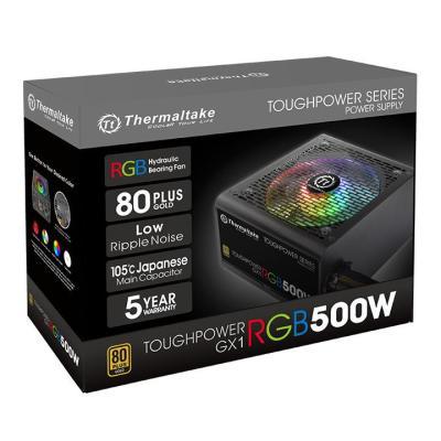 Блок питания ATX 500 Вт Thermaltake Toughpower GX1 RGB