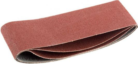 """Лента STAYER """"MASTER"""" шлифовальная универсальная бесконечная на тканевой основе, для ЛШМ, P60, 75х457мм, 3шт"""