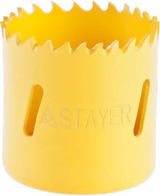 Коронка STAYER PROFESSIONAL Би-металлическая, универсальная, d=38мм