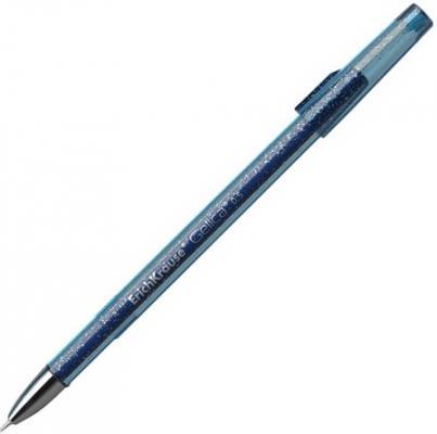 Ручка гелевая ERICH KRAUSE Gelica, корпус синий, игольчатый узел 0,5 мм, линия 0,4 мм, синяя, 45471 ручка гелевая erich krause g point игольчатый узел 0 38 мм линия письма 0 25 мм синяя
