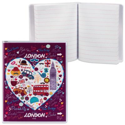Блокнот ДПС Лондон A7 50 листов блокнот printio лондон