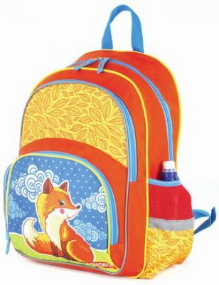 Купить Рюкзак ПИФАГОР+ для начальной школы, девочка, Лисичка, 40х30х15 см, 227940, сиреневый, полиэстер, ткань, Ранцы, рюкзаки и сумки