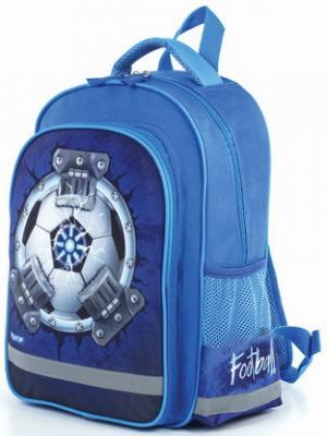 Купить Рюкзак ПИФАГОР для начальной школы, мальчик, Ультраболл, 38х28х14 см, 227947, синий, ткань, полиэстер, Ранцы, рюкзаки и сумки