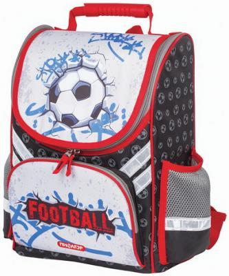 Ранец для учеников начальной школы ПИФАГОР, Футобольный мяч, 36х28х15 см, 227933