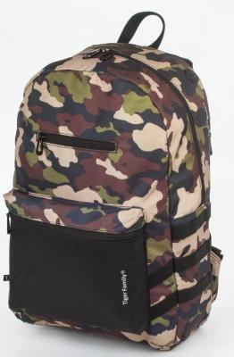 рюкзак dakine campus цвет камуфляж 33 л Рюкзак ручка для переноски Tiger Family Рюкзак молодежный 17 л камуфляж