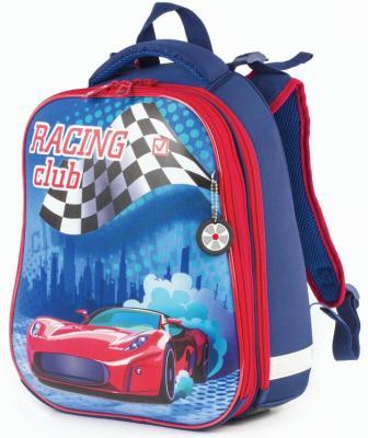 Ранец светоотражающие материалы BRAUBERG Race club 17 л ассорти школьные рюкзаки brauberg ранец динозавр 17 л