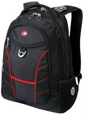 """цены на Рюкзак WENGER, универсальный, черный, красные полосы, """"Rad"""", 30 л, 35х20х47 см, 1178215  в интернет-магазинах"""