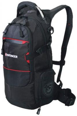 """цены Рюкзак туристический дышащая спинка WENGER """"Narrow Hiking Pack"""" 22 л черный"""