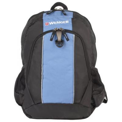 Рюкзак ручка для переноски WENGER Рюкзак универсальный 20 л черный голубой недорого