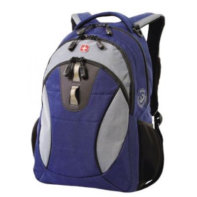 Городской рюкзак дышащая спинка WENGER универсальный 22 л сине-черный рюкзак городской wenger 29 л черный 34х19х46 см