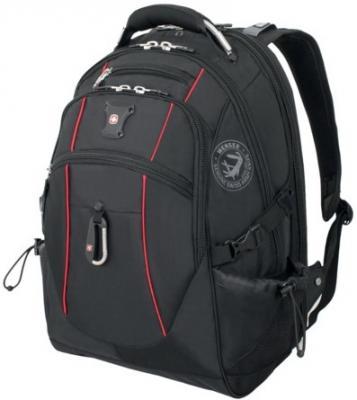 цена на Рюкзак WENGER, универсальный, черный, функция ScanSmart, 38 л, 34х23х48 см, 6677202408