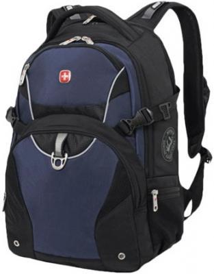 Рюкзак WENGER, универсальный, черно-синий, 32 л, 36х19х47 см, 3263203410 рюкзак wenger чёрный синий 3263203410