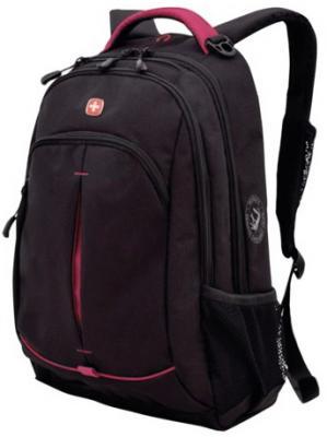 Рюкзак WENGER, универсальный, черный, розовые вставки, 22 л, 32х15х46 см, 3165208408 цена и фото