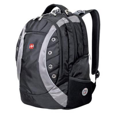 Рюкзак дышащая спинка WENGER Рюкзак универсальный 32 л черный серый цена и фото