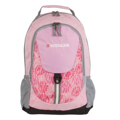 Рюкзак водонепроницаемый WENGER универсальный 20 л розовый цена и фото
