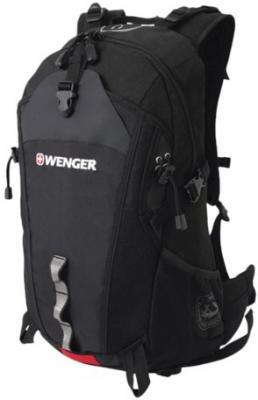 Рюкзак WENGER, универсальный, черный, туристический, 28 л, 29х19х52 см, 30582215 цена