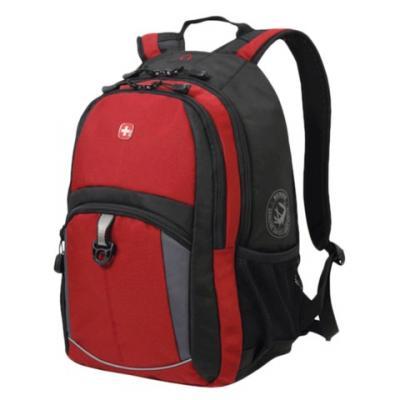 Рюкзак с отделением для ноутбука WENGER универсальный 22 л красный черный цена и фото