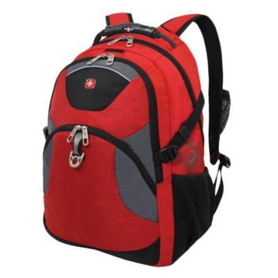 Городской рюкзак с отделением для ноутбука WENGER универсальный 26 л красный черный цена и фото