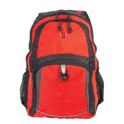 все цены на Городской рюкзак дышащая спинка WENGER универсальный 22 л оранжевый черный онлайн