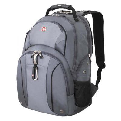 Купить Городской рюкзак с отделением для ноутбука WENGER универсальный 26 л серый серебристый, серый, серебристый, полиэстер, Рюкзаки