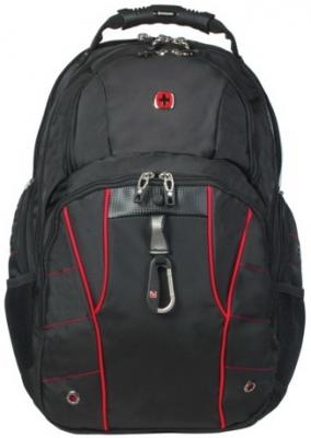 Рюкзак WENGER, универсальный, черный, функция ScanSmart, 29 л, 34х18х47см, 6939201408 цена и фото