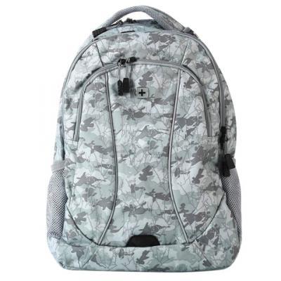 Городской рюкзак с отделением для ноутбука WENGER универсальный 34 л светло-серый камуфляж