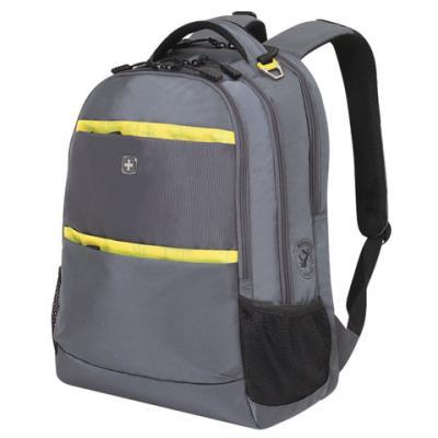 Городской рюкзак с отделением для ноутбука WENGER универсальный 28 л серый цена и фото