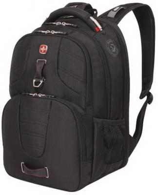 Рюкзак WENGER, универсальный, черный, функция ScanSmart, 31 л, 47х34х20 см, 5903201416 рюкзак wenger scansmart black red 6752201409