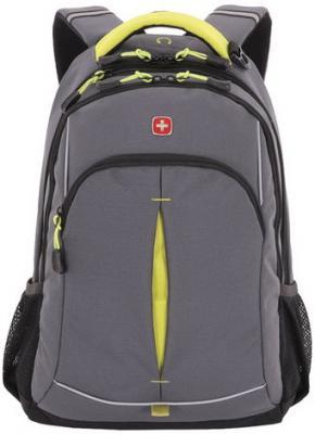 Рюкзак WENGER универсальный, серый, светоотражающие элементы, 22 л, 32х15х46 см, 3165426408-2 цена и фото