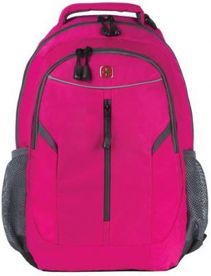Рюкзак WENGER универсальный, розовый, светоотражающие элементы, 22 л, 32х15х45 см, 3020804408-2 рюкзак 3020804408 2 розовый серый