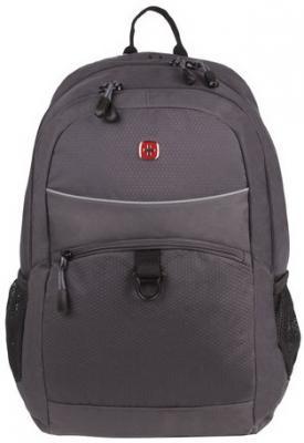Рюкзак WENGER универсальный, темно-серый, светоотражающие элементы, 26 л, 33х17х46 см, 6651414408 цена и фото