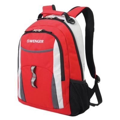 Рюкзак дышащая спинка WENGER универсальный 22 л красный цена и фото