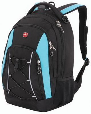 цена на Рюкзак WENGER универсальный, черно-синий, светоотражающие элементы, 28 л, 33х19х45 см, 11862315-2