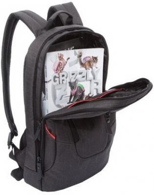 Рюкзак GRIZZLY универсальный, с отделением для ноутбука, черный, 28х44х16 см, RU-820-1/3 рюкзак grizzly ru 804 3 2 black lime green