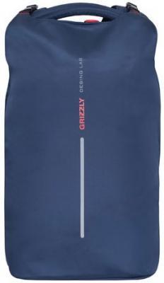 Рюкзак GRIZZLY универсальный, синий, 27х44х17 см, RQ-916-1/2 рюкзак grizzly rq 912 1 1 black