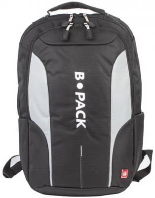 Рюкзак с отделением для ноутбука B-PACK S-04 15 л черный цена