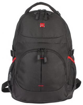 Рюкзак с уплотненной спинкой B-PACK S-06 20 л черный