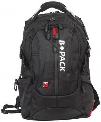 0cdf1c91537f Рюкзак с отделением для ноутбука b pack s 08 40 л черный istoriktv.ru