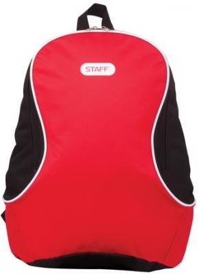 Рюкзак ручка для переноски STAFF Флэш 12 л красный черный цена