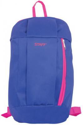 "Рюкзак ручка для переноски STAFF ""Air"" 10 л розовый синий"