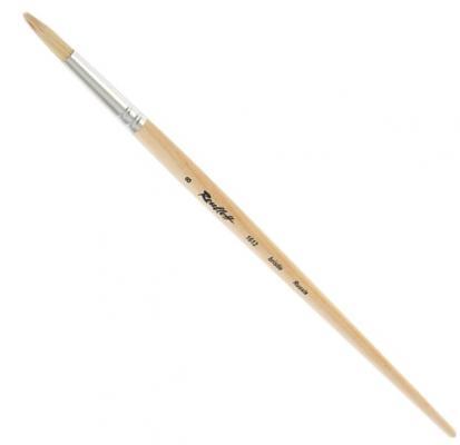 Кисть ROUBLOFF щетина roubloff кисть 1632 щетина овальная 36 длинная ручка
