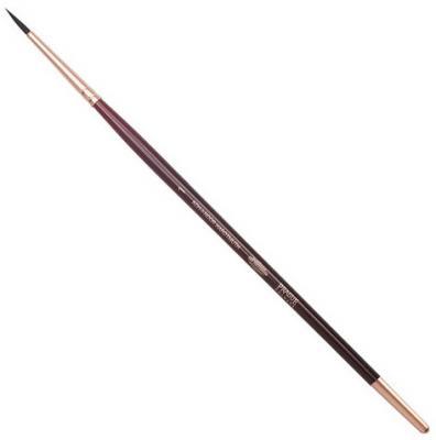 Кисть художественная KOH-I-NOOR белка, круглая, №1, короткая ручка, блистер, 9935001017BL недорого