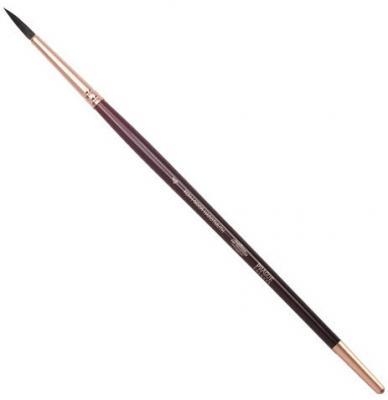 Кисть художественная KOH-I-NOOR белка, круглая, №4, короткая ручка, блистер, 9935004017BL