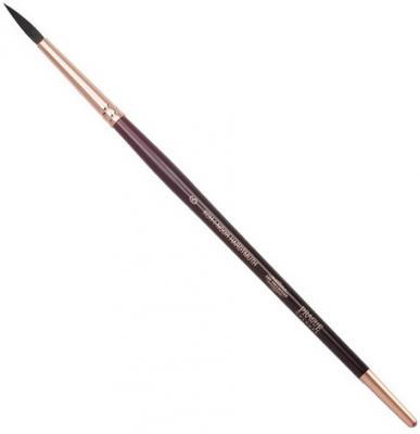 Кисть художественная KOH-I-NOOR белка, круглая, №6, короткая ручка, блистер, 9935006017BL koh i noor кисть белка круглая 10 короткая ручка 200401