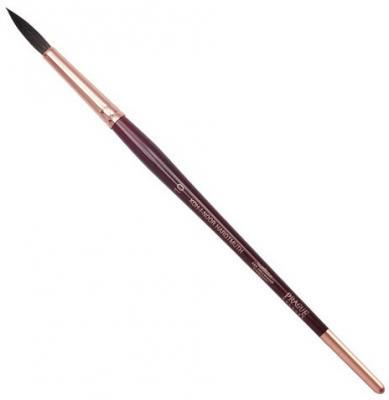 Кисть художественная KOH-I-NOOR белка, круглая, №10, короткая ручка, блистер, 9935010017BL koh i noor кисть белка круглая 10 короткая ручка 200401
