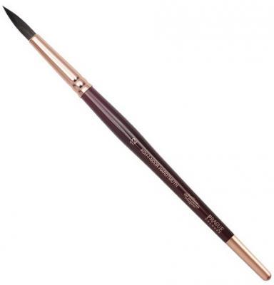 Кисть художественная KOH-I-NOOR белка, круглая, №12, короткая ручка, блистер, 9935012017BL koh i noor кисть белка круглая 10 короткая ручка 200401