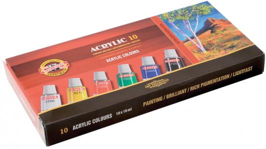цены на Акриловые краски Koh-i-Noor Пейзаж 10 цветов  в интернет-магазинах