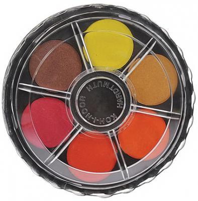цены на Краски акварельные KOH-I-NOOR, 12 цветов, без кисти, круглая пластиковая коробка, 017150300000  в интернет-магазинах